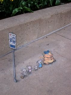 David Zinn  |  Street Art Gallery