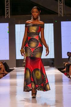 Glitz Africa Fashion Week – Sarah Richards ~Latest African Fashion, African women dresses, African P African Inspired Fashion, African Dresses For Women, African Print Dresses, African Print Fashion, Africa Fashion, African Attire, African Wear, African Fashion Dresses, Ethnic Fashion