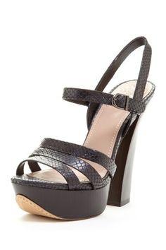 Miner High Heel Sandal