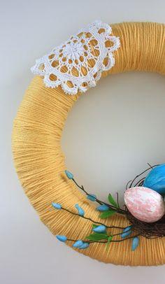 DIY Sweet Easter Wreath