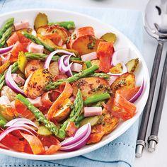 Salade gourmande de pommes de terre rôties - Recettes - Cuisine et nutrition - Pratico Pratique
