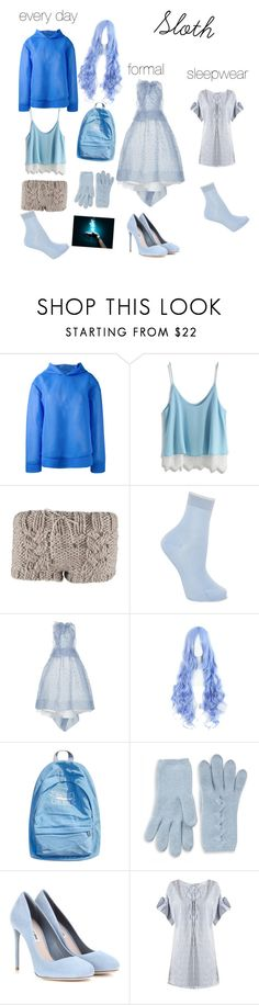 """""""Creepypasta oc : Sloth"""" by mountaindewqueen15 ❤ liked on Polyvore featuring MSGM, Chicwish, Maria La Rosa, Maticevski, WithChic, Portolano, Miu Miu and Three Graces"""
