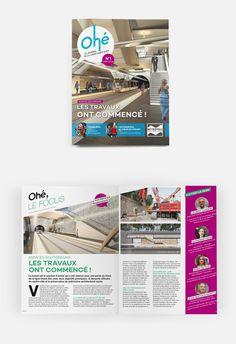 Découvrez la première édition de Ohé, le magazine d'informations des Niçois sur les travaux de la ligne 2 du Tram. #OPS2