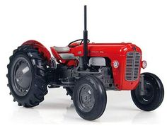Universal Hobbies 1:16 Massey Ferguson 35 Diecast Model Tractor J4141 This Massey Ferguson 35 (1959) Diecast Model Tractor is Red and features working wheels and also opening bonnet with engine. It is made by Universal Hobbies and is 1:16 scale (approx. 20cm / 7.9in long).