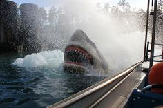 Jaws ride at Univeral Studios!  (will be missed)