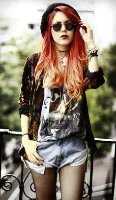 Hipster. Grunge. Fashion.
