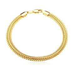 Thick Snake Chain Bracelet (other colors available) #MensFashionRock