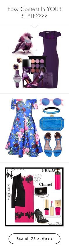 """""""Easy Contest In YOUR STYLE😀😀😀😀"""" by ragnh-mjos ❤ liked on Polyvore featuring contest, outfit, Antonio Berardi, MAC Cosmetics, Yves Saint Laurent, Butter London, Ted Baker, GUESS, Betsey Johnson and Tabitha Simmons"""