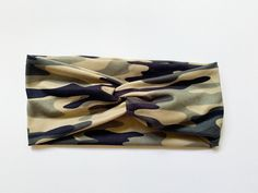 Tie Headband, Turban Headbands, Knitted Headband, Way Down, Headbands For Women, Scarf Hairstyles, Head Wraps, Color Patterns, Camo