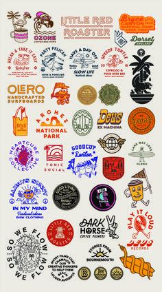 Fried Cactus Studio is part of Graphic design logo - Typography Logo, Typography Design, Inspiration Logo Design, Affinity Designer, Ex Machina, Badge Design, Grafik Design, Vintage Design, Retro Vintage