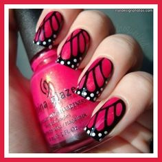 spring manicure ideas | nail art designs for spring 2011