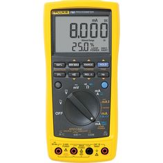 Fluke The 789 ProcessMeter is the ultimate. Electrical Projects, Electrical Installation, Electrical Tools, Temperature Measurement, Circuit Design, Vape, Digital, Cuba, Gauges