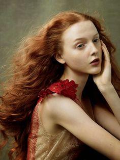 """Duchess Dior: """"Fire Starters"""" by Annie Leibovitz for Vogue US August 2014"""