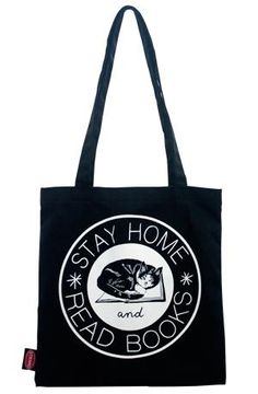 stay home and read books tote the strand