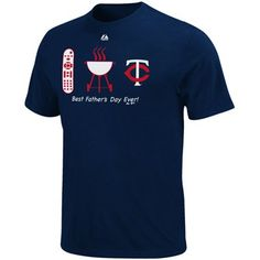Majestic Minnesota Twins Lucky Guy Father's Day T-Shirt