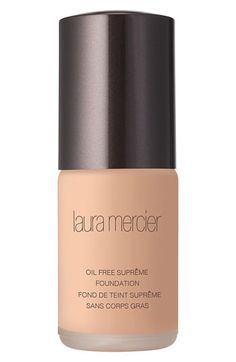 Laura Mercier 'Oil Free Suprême' Foundation available at #Nordstrom I want this so bad... If you have used it please comment on this, would love some advice?