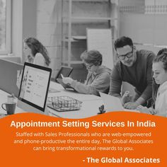 Staffed with Sales Professionals who are web-empowered and phone-productive the entire day, The Global Associates can bring transformational rewards to you. #appointmentsettingservices #b2bleadgeneration #leadgenerationservices #b2b #leadgenerationforb2bcompanies