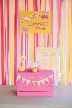 Un photocall preciosa para un primer cumpleaños / A lovely photocall for a first birthday party