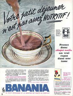 Petit déjeuner Banania - Jours de France, 30 septembre 1961