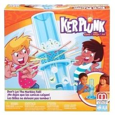 Ker Plunk Game - Don't Let the Marbles Fall Kids Activity Toy Playset Age 5 Up #Mattel