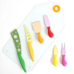 Fab.com | Nonstick Cheese Knife Set