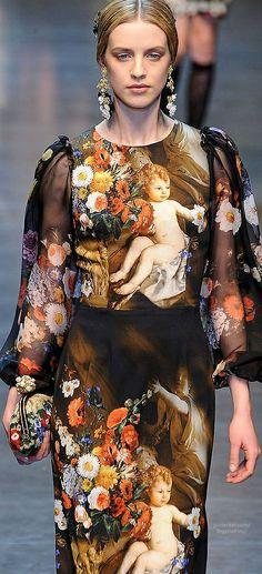 Dolce & Gabbana  @Synthia Van Sweete #synvansweete