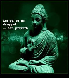 Fractal Enlightenment | Creative Detachment: The Secret to Freedom and Happiness / Let go or be dragged / Zen proverb