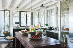 rustic details and lots of light