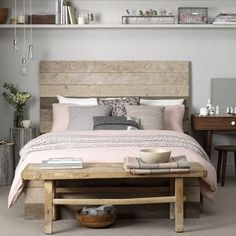 Looking for great living room decorating ideas? Take a look at this monochrome living room from Ideal Home for inspiration. Gray Bedroom, Home Bedroom, Bedroom Carpet, Master Bedroom, Trendy Bedroom, Peaceful Bedroom, Pink And Beige Bedroom, Bedroom 2018, Bedroom Small
