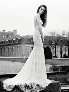c0ed46448469 berta abiti da sposa 2013 pizzo Guaina cinghie Abiti Da Sposa Neri