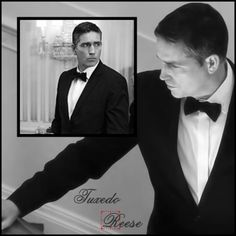 Reese, John Reese. Honestly, it should be required that we get a Reese in a tux scene in each episode.