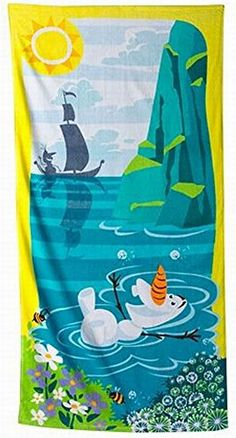 Disney Jumping Beans Frozen Olaf Cotton Beach Towel & Cin... https://www.amazon.com/dp/B0121J6CFO/ref=cm_sw_r_pi_awdb_x_vNKHybABFP7E8