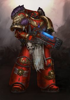 Xeno hunter by Inkary. Warhammer 40k