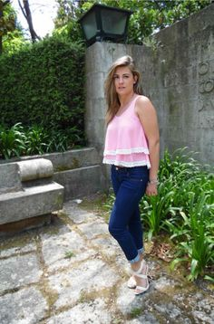 Coco and Jeans: Candy Top