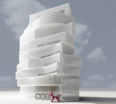 Stacking Building the Office Spaces | Badaro Office Building, Lebanon