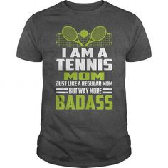 I AM A TENNIS MOM - Hot Trend T-shirts