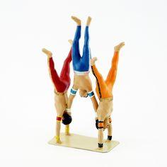 """la pyramide des acrobates (ref. CBG 8022-117) - collection """"le Cirque"""" - création été 2017 Creations, Collection"""