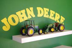 john deere bedroom | John Deere Room, Kids Bedrooms, Deer Tractors, John Deer Rooms, John Deer Bedrooms, Rooms Tours, Aidan Rooms, Boys Rooms, John Deere Bedroom