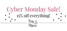 Cyber Monday Sale-Pa