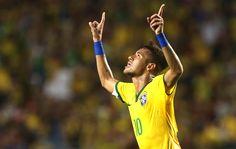 Com golaço  de Neymar, Brasil bate a Colômbia em Miami:)