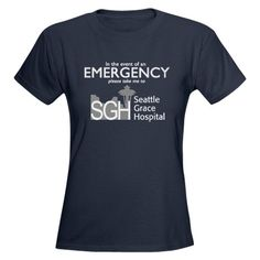 SGH Emergency Women's Dark T-Shirt