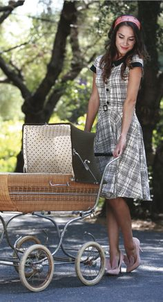 Jane Dress - Summer Plaid by Effie's Heart...$92