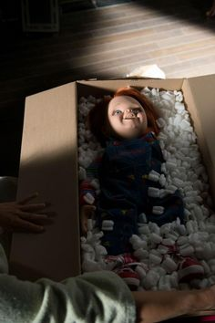 Child's Play. How can this doll still scare people?!