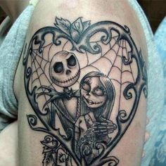 Nightmare before Christmas #tattoo