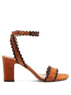 7c664137b Leticia ric-rac trimmed suede sandals