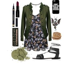 movie night by mizraaqi on Polyvore featuring Wet Seal, Topshop, Chan Luu, Yves…