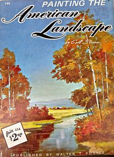 Book Painting The American Landscape By Carl by mybonvivant