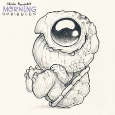 Rocking turtle. #morningscribbles
