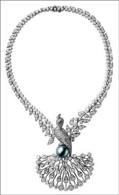 When I am a donya. Cartier - emerald and pearl