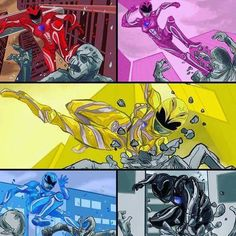 Power Rangers Fan Art, Power Rangers 2017, Power Rangers Pictures, Power Ragers, Mighty Morphin Power Rangers, Harley Quinn, Teenagers, Samurai, Knight